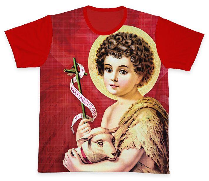 Camiseta REF.0280 - São João Batista  - Camisetas Sabatini