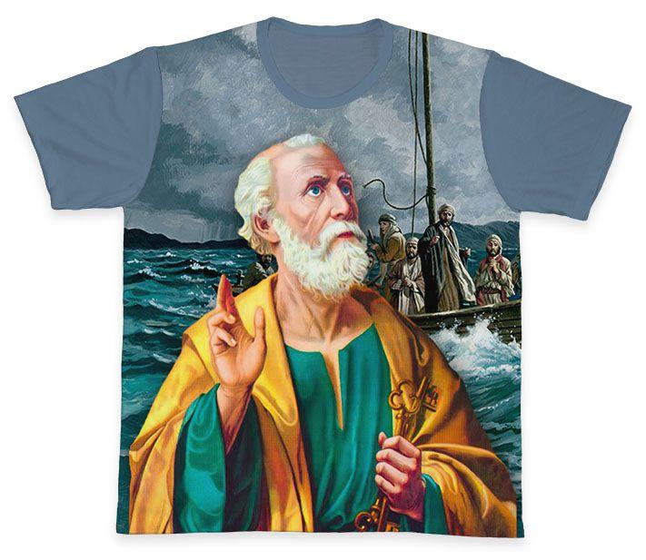 Camiseta REF.0281 - São Pedro  - Camisetas Sabatini