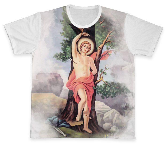 Camiseta REF.0286 - São Sebastião  - Camisetas Sabatini