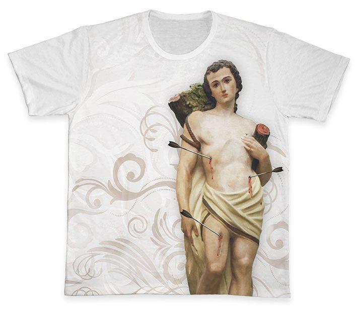 Camiseta REF.0293 - São Sebastião  - Camisetas Sabatini