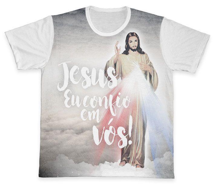 Camiseta REF.0294 - Jesus Misericordioso  - Camisetas Sabatini