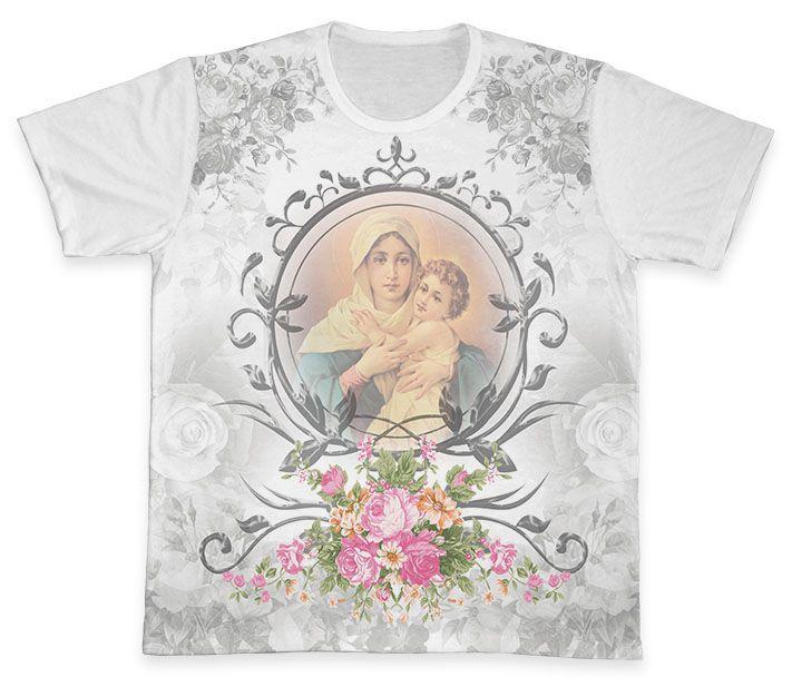 Camiseta REF.0298 - Mãe Rainha  - Camisetas Sabatini