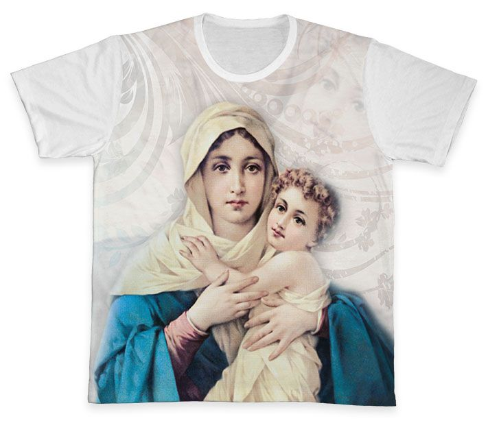Camiseta REF.0299 - Mãe Rainha  - Camisetas Sabatini