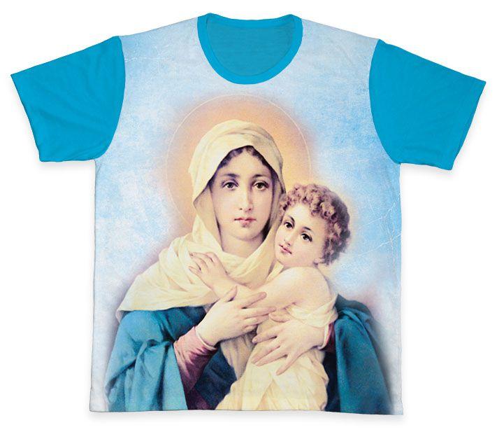 Camiseta REF.0300 - Mãe Rainha  - Camisetas Sabatini