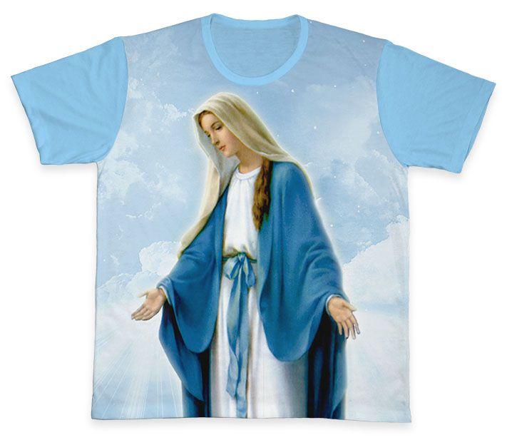 Camiseta REF.0311 - Nossa Senhora Das Graças  - Camisetas Sabatini