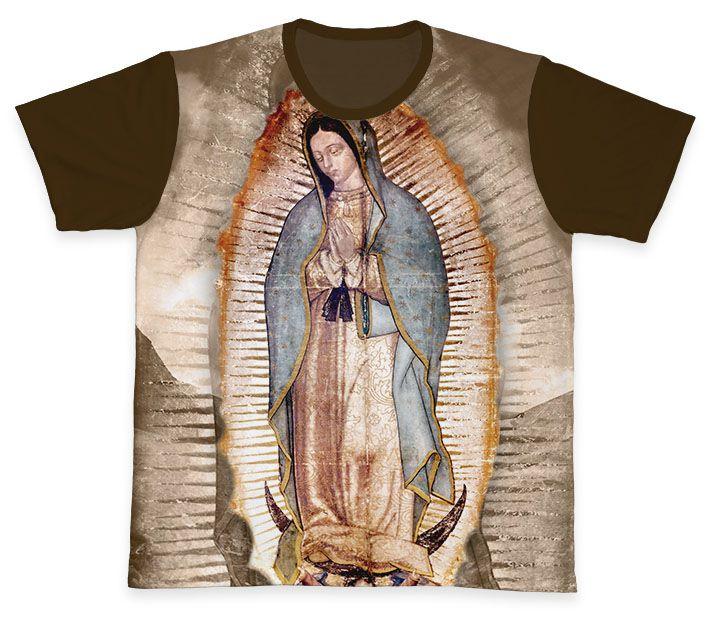 Camiseta REF.0315 - Nossa Senhora de Guadalupe  - Camisetas Sabatini