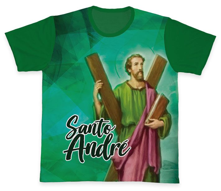 Camiseta REF.0322 - Santo André  - Camisetas Sabatini