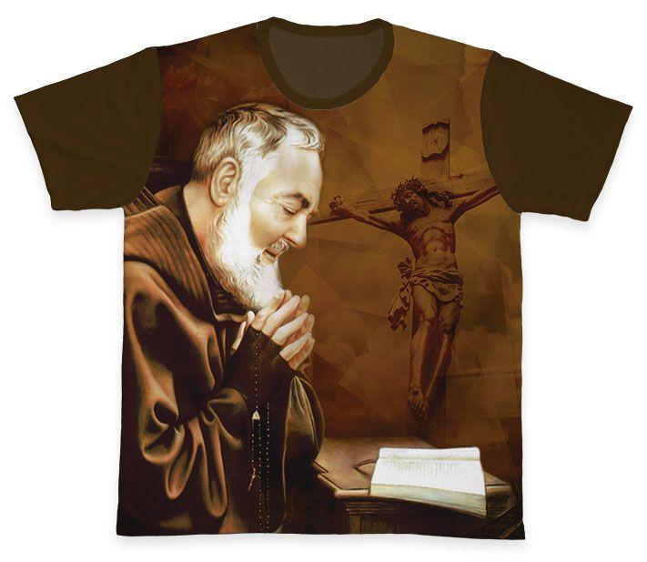 Camiseta REF.0323 - Padre Pio  - Camisetas Sabatini