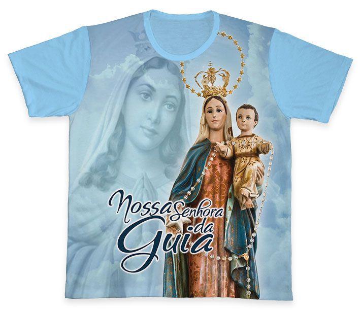 Camiseta REF.0324 - Nossa Senhora da Guia  - Camisetas Sabatini
