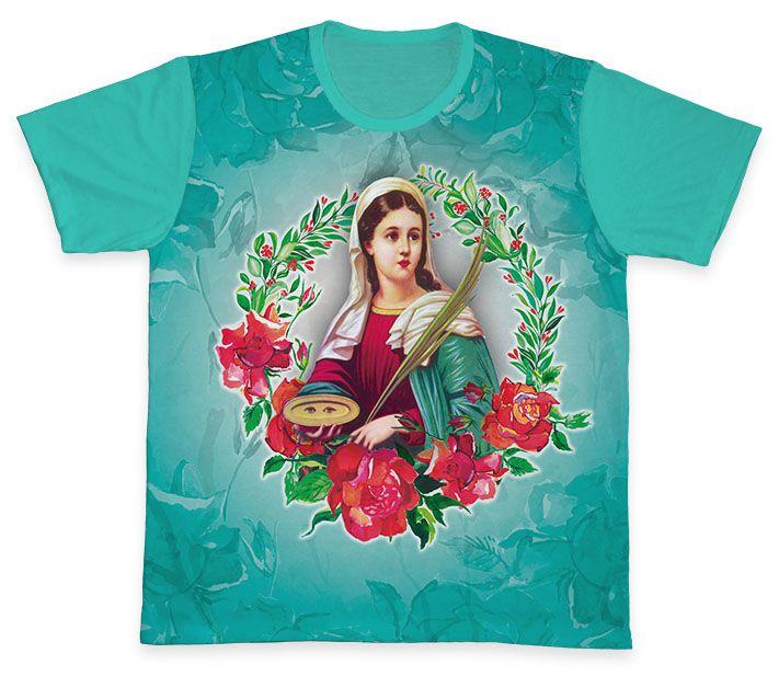 Camiseta REF.0325 - Santa Luzia  - Camisetas Sabatini