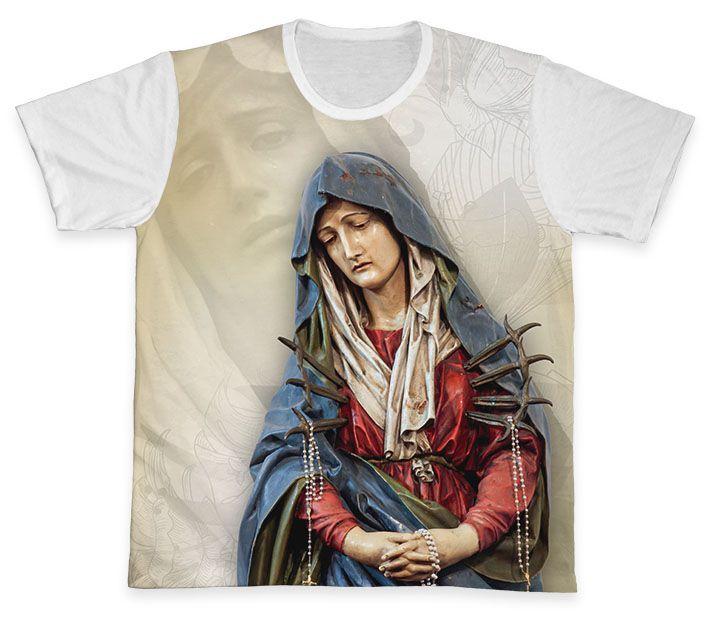 Camiseta REF.0328 - Nossa Senhora das Dores  - Camisetas Sabatini