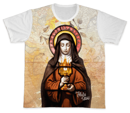 Camiseta Ref. 0330 - Santa Clara de Assis