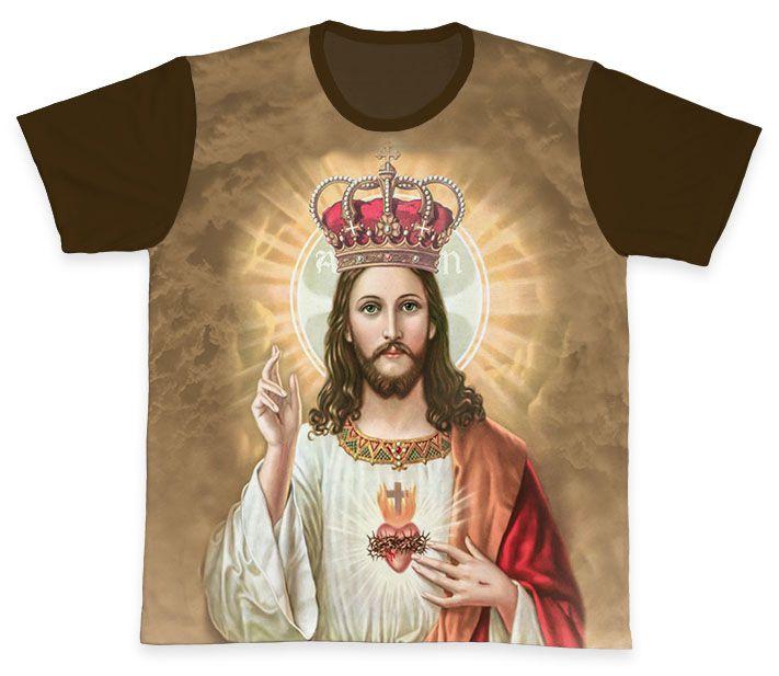 Camiseta REF.0333 - Cristo Rei  - Camisetas Sabatini
