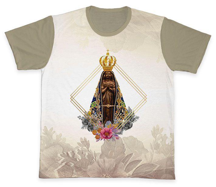 Camiseta REF.0340 - Nossa Senhora Aparecida  - Camisetas Sabatini