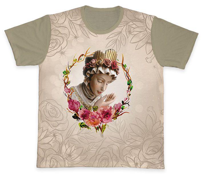 Camiseta REF.0341 - Nossa Senhora da Salete  - Camisetas Sabatini