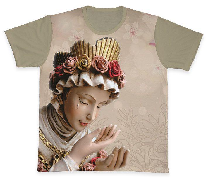Camiseta REF.0342 - Nossa Senhora da Salete  - Camisetas Sabatini