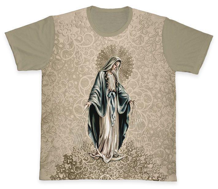 Camiseta REF.0350 - Nossa Senhora Das Graças  - Camisetas Sabatini