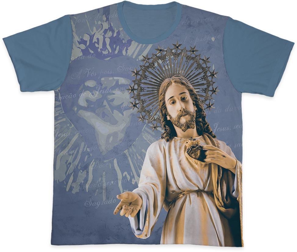 Camiseta Ref. 0353 - Sagrado Coração de Jesus