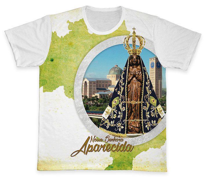 Camiseta Ref. 0359 - Nossa Senhora Aparecida