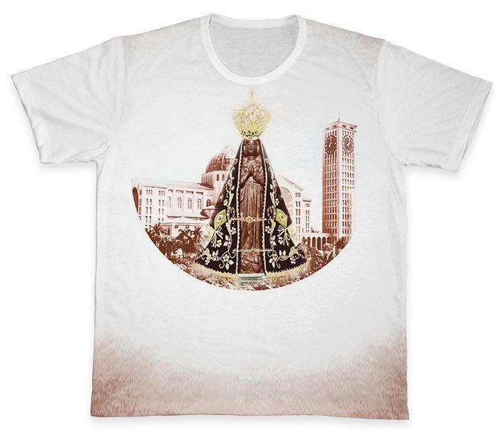 Camiseta REF.0360 - Nossa Senhora Aparecida  - Camisetas Sabatini
