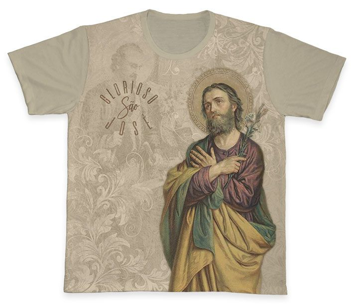 Camiseta REF.0367 - São José  - Camisetas Sabatini
