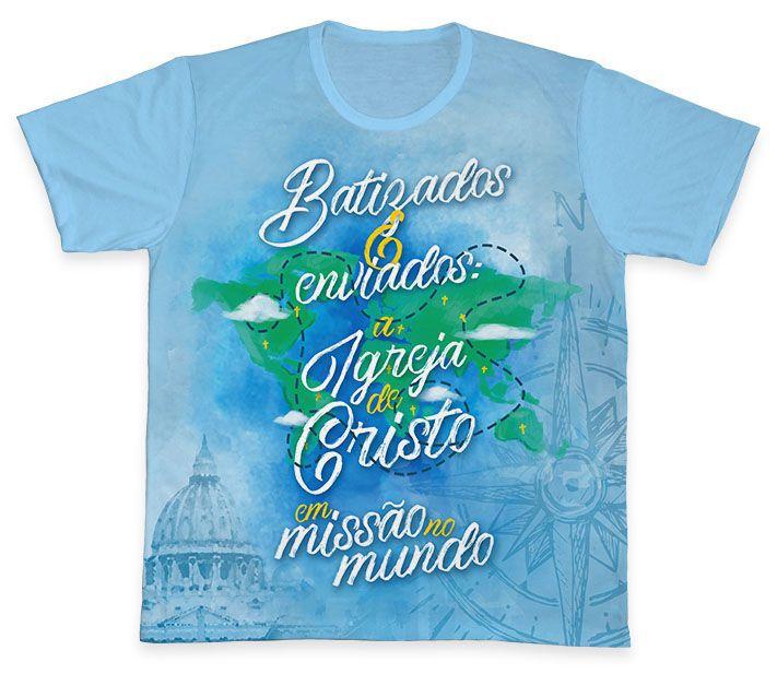 Camiseta REF.0372 - Ano Missionário  - Camisetas Sabatini