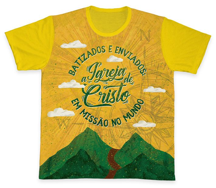 Camiseta REF.0373 - Ano Missionário  - Camisetas Sabatini