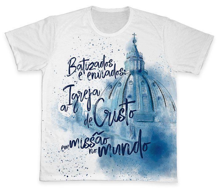 Camiseta REF.0375 - Ano Missionário  - Camisetas Sabatini