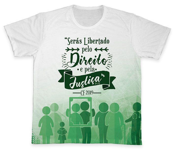 Camiseta REF.0377 - Campanha da Fraternidade 2019  - Camisetas Sabatini