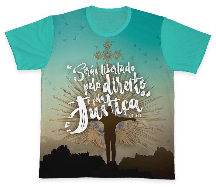 Camiseta REF.0378 - Campanha da Fraternidade 2019  - Camisetas Sabatini