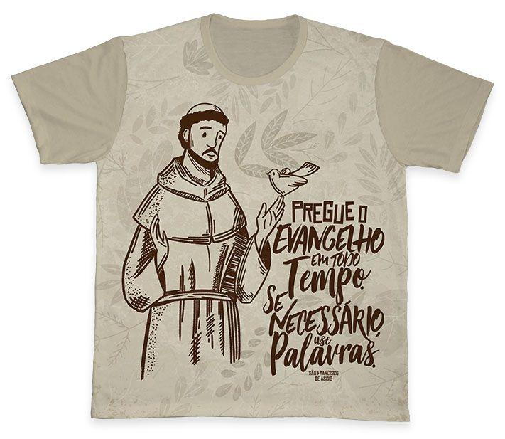 Camiseta Ref. 0381 - São Francisco de Assis