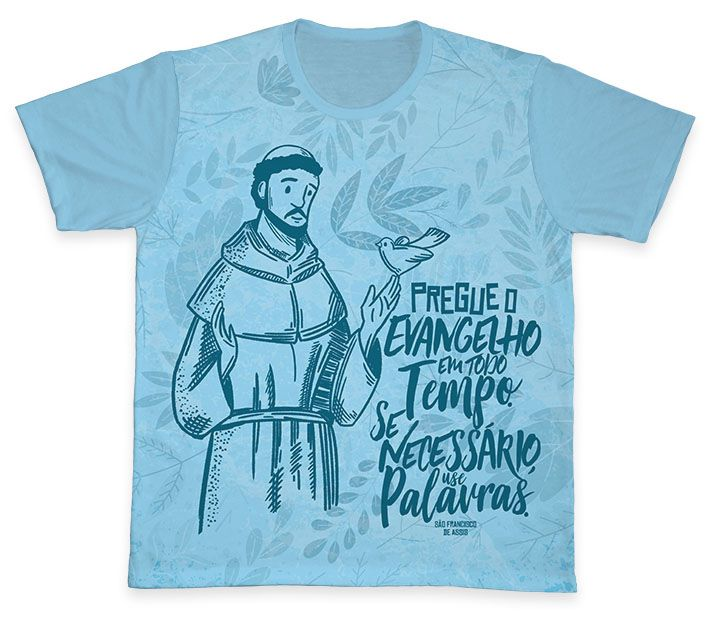 Camiseta Ref. 0382 - São Francisco de Assis