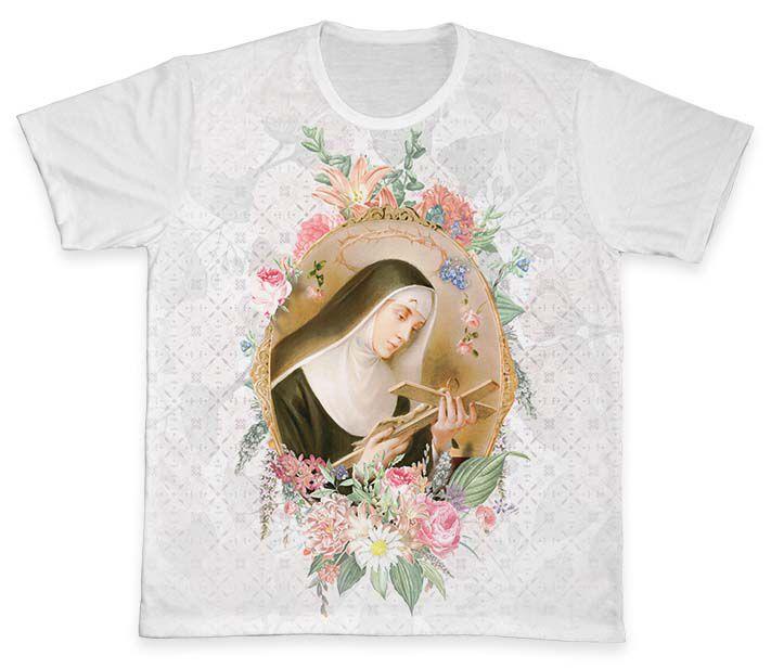 Camiseta Ref. 0385 - Santa Rita de Cássia