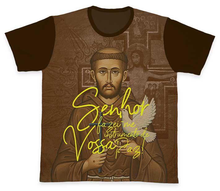 Camiseta Ref. 0390 - São Francisco de Assis