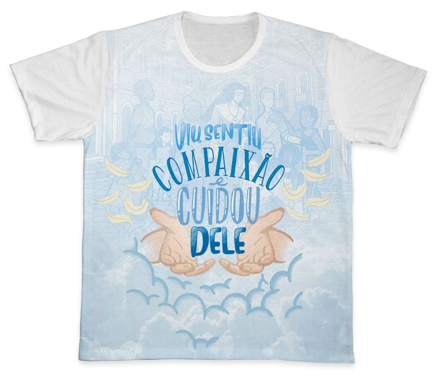 Camiseta Ref. 0400 - Campanha da Fraternidade 2020