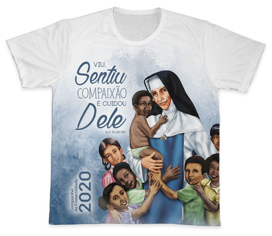 Camiseta Ref. 0405 - Campanha da Fraternidade 2020