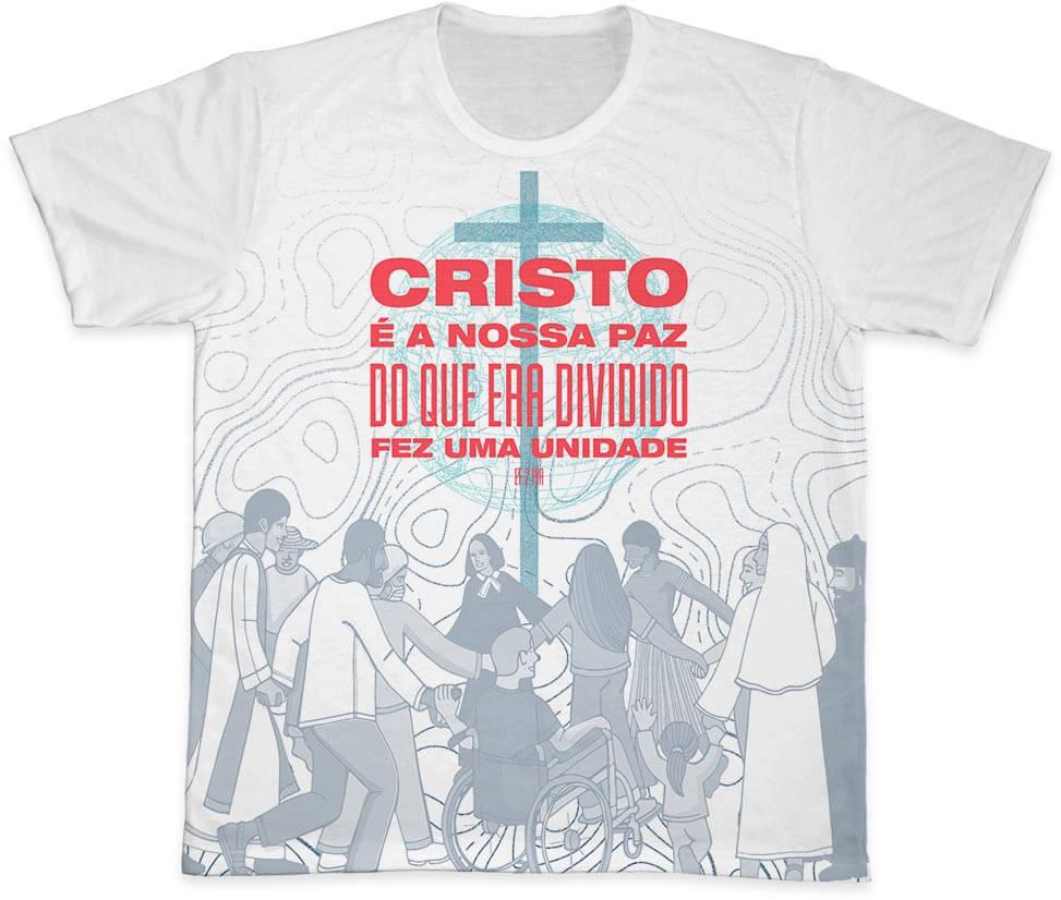Camiseta Ref. 0408 - Campanha da Fraternidade 2021