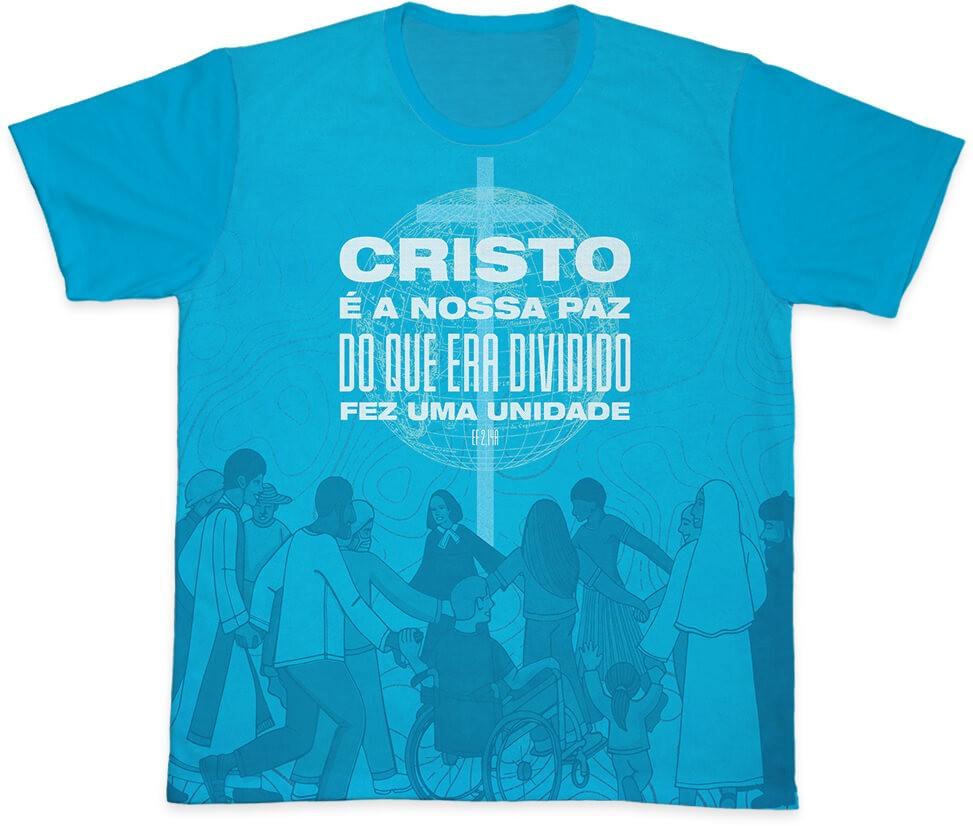 Camiseta Ref. 0409 - Campanha da Fraternidade 2021
