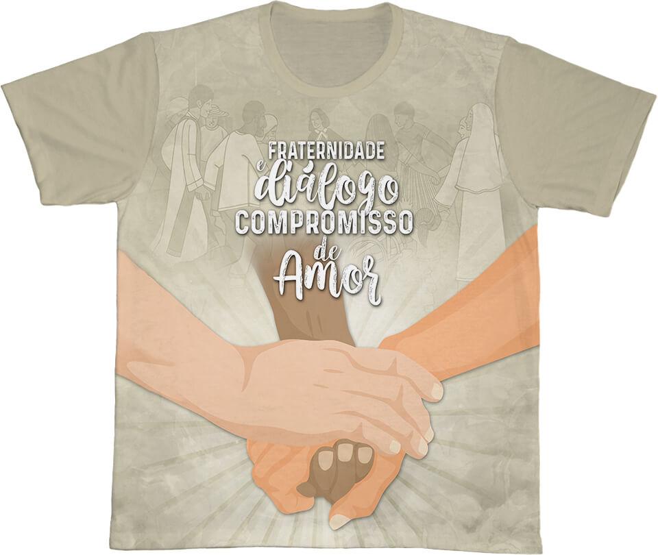 Camiseta Ref. 0410 - Campanha da Fraternidade 2021