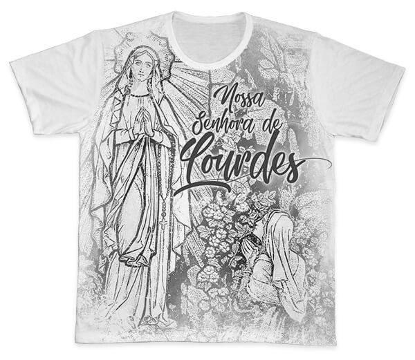 Camiseta Ref. 0412 - Nossa Senhora de Lourdes