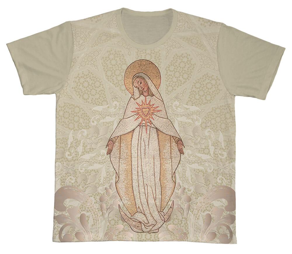 Camiseta Ref. 0416 - Imaculado Coração de Maria
