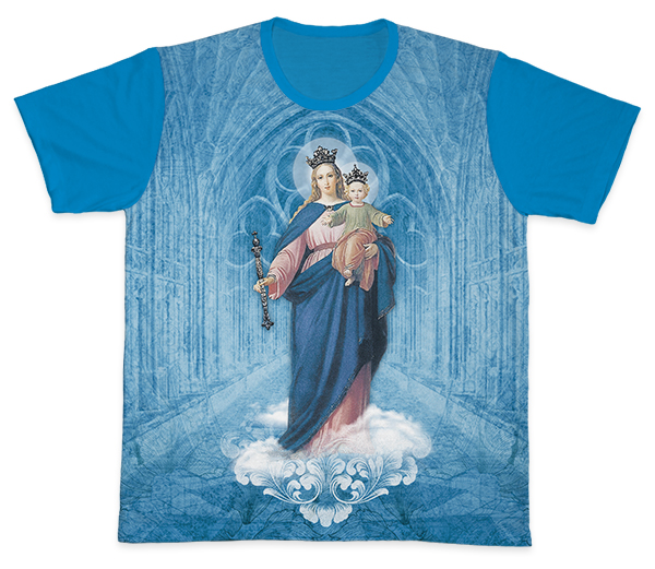 Camiseta Ref. 0418 - Nossa Senhora Auxiliadora
