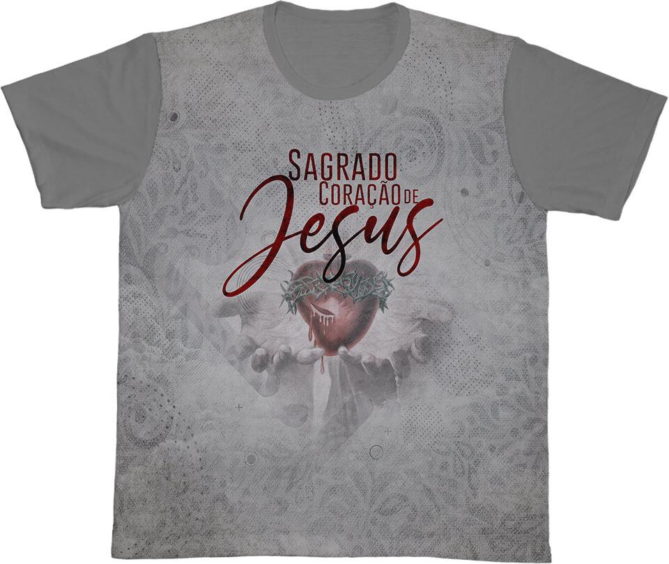 Camiseta Ref. 0424 - Sagrado Coração de Jesus