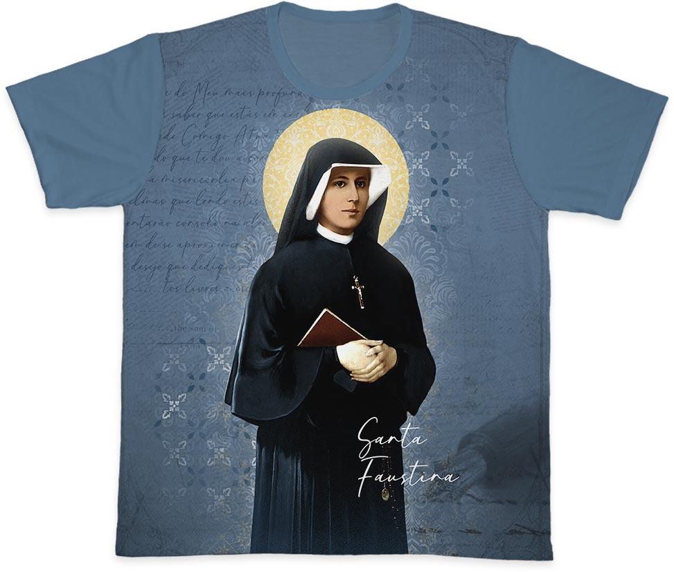 Camiseta Ref. 0430 - Santa Faustina