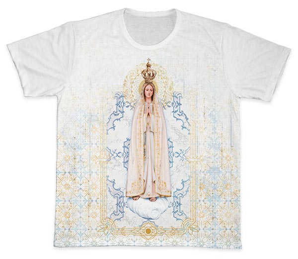 Camiseta Ref. 0434 - Nossa Senhora de Fátima