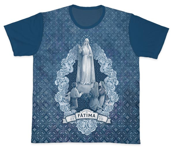 Camiseta Ref. 0436 - Nossa Senhora de Fátima
