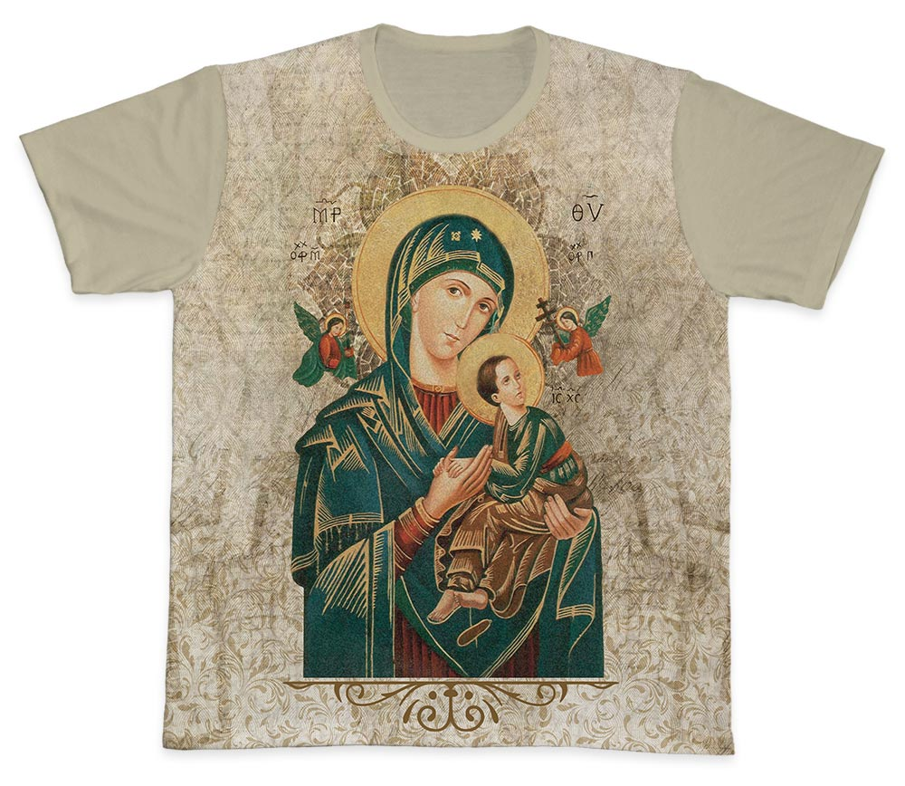 Camiseta Ref. 0439 - Nossa Senhora do Perpétuo Socorro