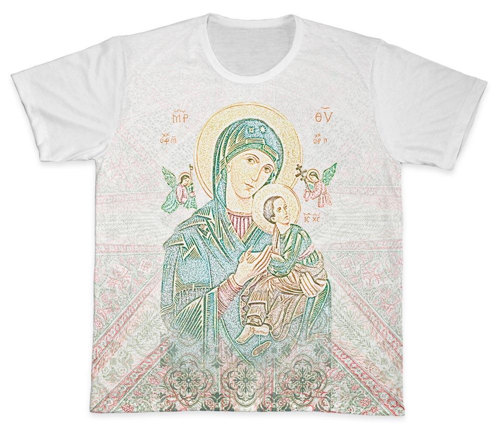 Camiseta Ref. 0440 - Nossa Senhora do Perpétuo Socorro