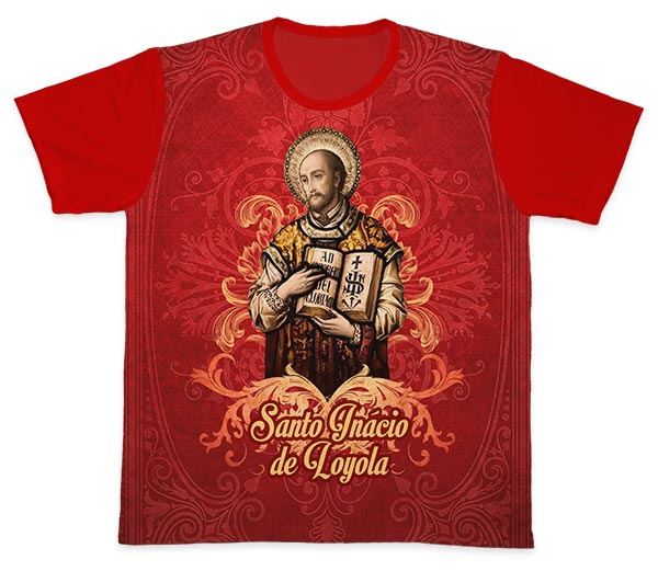 Camiseta Ref. 0442 - Santo Inácio de Loyola