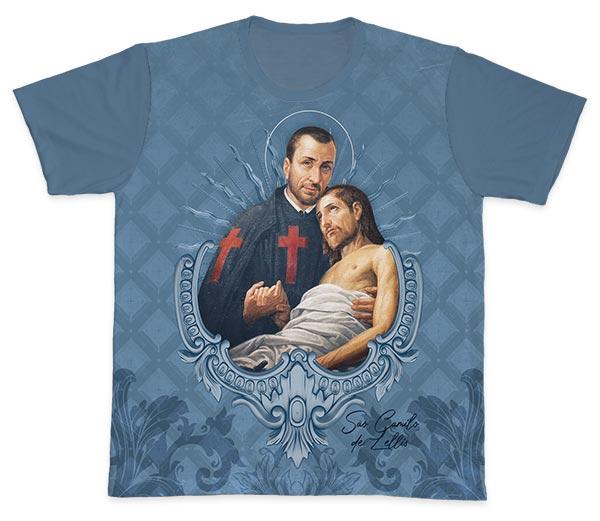 Camiseta Ref. 0445 - São Camilo de Lellis